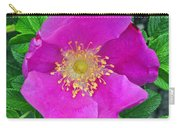 Pink Portulaca Carry-all Pouch