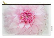 Pink Precious In White Carry-all Pouch
