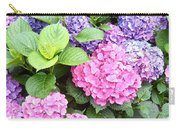 Pink Purple Hydrangeas Carry-all Pouch