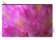 Pink Rhododendron Bloom  Carry-all Pouch