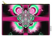 Pink Ribbons And Bow Fractal 75 Carry-all Pouch