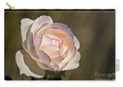 Pink Rose Blossom Carry-all Pouch