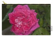 Pink Rose Wendy Cussons With Raindrops Carry-all Pouch