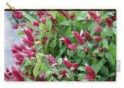Pink Shrimp Plant Carry-all Pouch