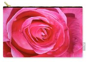 Pink Sunrise Rose Carry-all Pouch