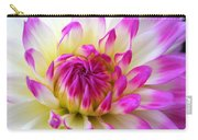 Pink Tinged Dahlia Carry-all Pouch