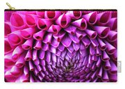 Pink To Purple Dahlia Carry-all Pouch