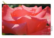 Pink Touch Of Class Petals Carry-all Pouch