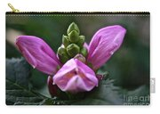 Pink Turtlehead Carry-all Pouch