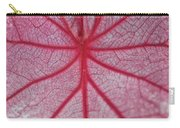 Pink Veins Carry-all Pouch