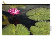 Pink Water Lily I Carry-all Pouch