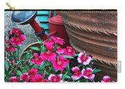 Pinks The Garden Beauty - Dianthus Carry-all Pouch