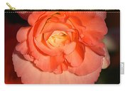 Pinky Orange Tuberous Begonias Carry-all Pouch
