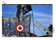 Pirate Ship With Target Carry-all Pouch by Garry Gay