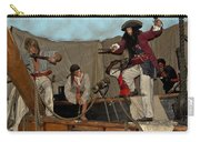 Pirates Of Peril Carry-all Pouch by DigiArt Diaries by Vicky B Fuller