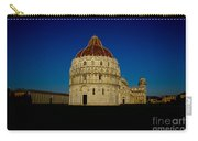 Pisa Tower And Baptistery Cathedral Carry-all Pouch