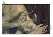 Pisces From Zodiac Series Carry-all Pouch by Dorina  Costras