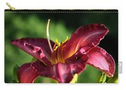 Pistons Of The Pink Yellow Lily Carry-all Pouch