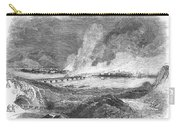 Pittsburgh: Fire, 1845 Carry-all Pouch