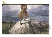 Plains Native American: Signal, 1873 Carry-all Pouch