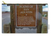 Plains Of San Agustin Carry-all Pouch