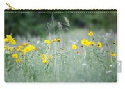 Plains Yellow Daisy Carry-all Pouch