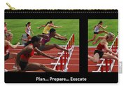 Plan Prepare Execute With Caption Carry-all Pouch