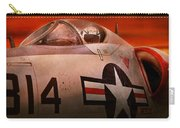 Plane - Pilot - Airforce - Go Get Em Tiger  Carry-all Pouch by Mike Savad