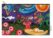 Planet Fantastic Carry-all Pouch by Genevieve Esson