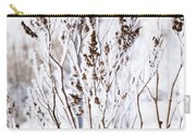 Plants In Winter Carry-all Pouch