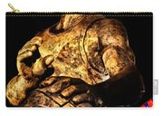 Player In Bronze Carry-all Pouch by Christopher Holmes