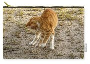 Playful Yellow Kitty Carry-all Pouch