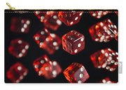 Playing Dice Being Rolled Carry-all Pouch