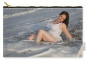 Playing In The Surf Carry-all Pouch