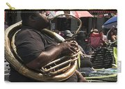Playing The Tuba _ New Orleans Carry-all Pouch