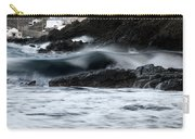 playing with waves 2 - A beautiful image of a wave rolling in noth coast of Menorca Cala Mesquida Carry-all Pouch