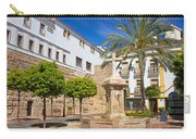 Plaza De La Iglesia In Marbella Carry-all Pouch