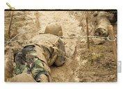 Plebes Navigate The Low Crawl Obstacle Carry-all Pouch