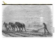 Ploughing, 1846 Carry-all Pouch