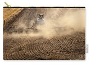 Plowing The Ground Carry-all Pouch by Mike  Dawson