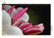 Plumeria In The Wind Carry-all Pouch