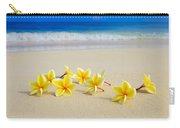 Plumerias On Beach II Carry-all Pouch