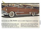 Plymouth De Soto 1953 Carry-all Pouch