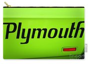 Plymouth Road Runner Carry-all Pouch