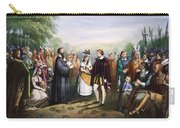 Pocahontas & John Rolfe Carry-all Pouch