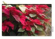 Poinsettia Garden Carry-all Pouch