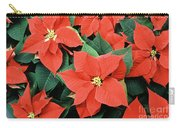 Poinsettia Varieties Carry-all Pouch