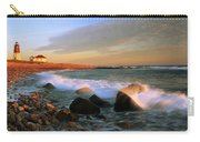 Point Judith Lighthouse Seascape Carry-all Pouch
