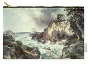 Point Lobos At Monterey In California Carry-all Pouch by Thomas Moran
