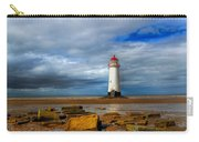 Point Of Ayr Beach Carry-all Pouch by Adrian Evans
